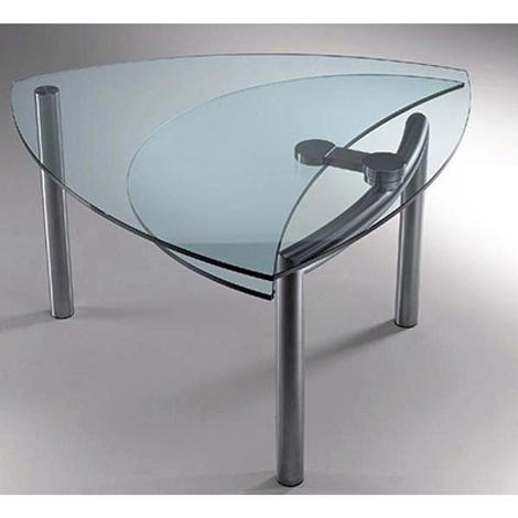 Tavolo cristallo allungabile reflex scontato del 50 tavoli a prezzi scontati - Tavolo cristallo allungabile ...