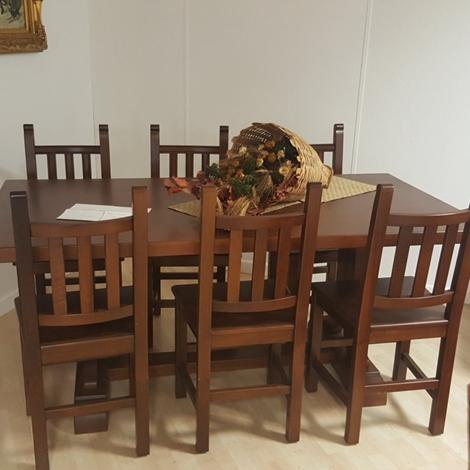 Tavolo cucina classico con 6 sedie tavoli a prezzi scontati for Sedie cucina prezzi
