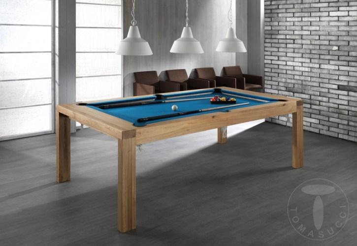 Tavolo da biliardo tomasucci modello karambola tavoli a - Tavolo da biliardo trasformabile ...