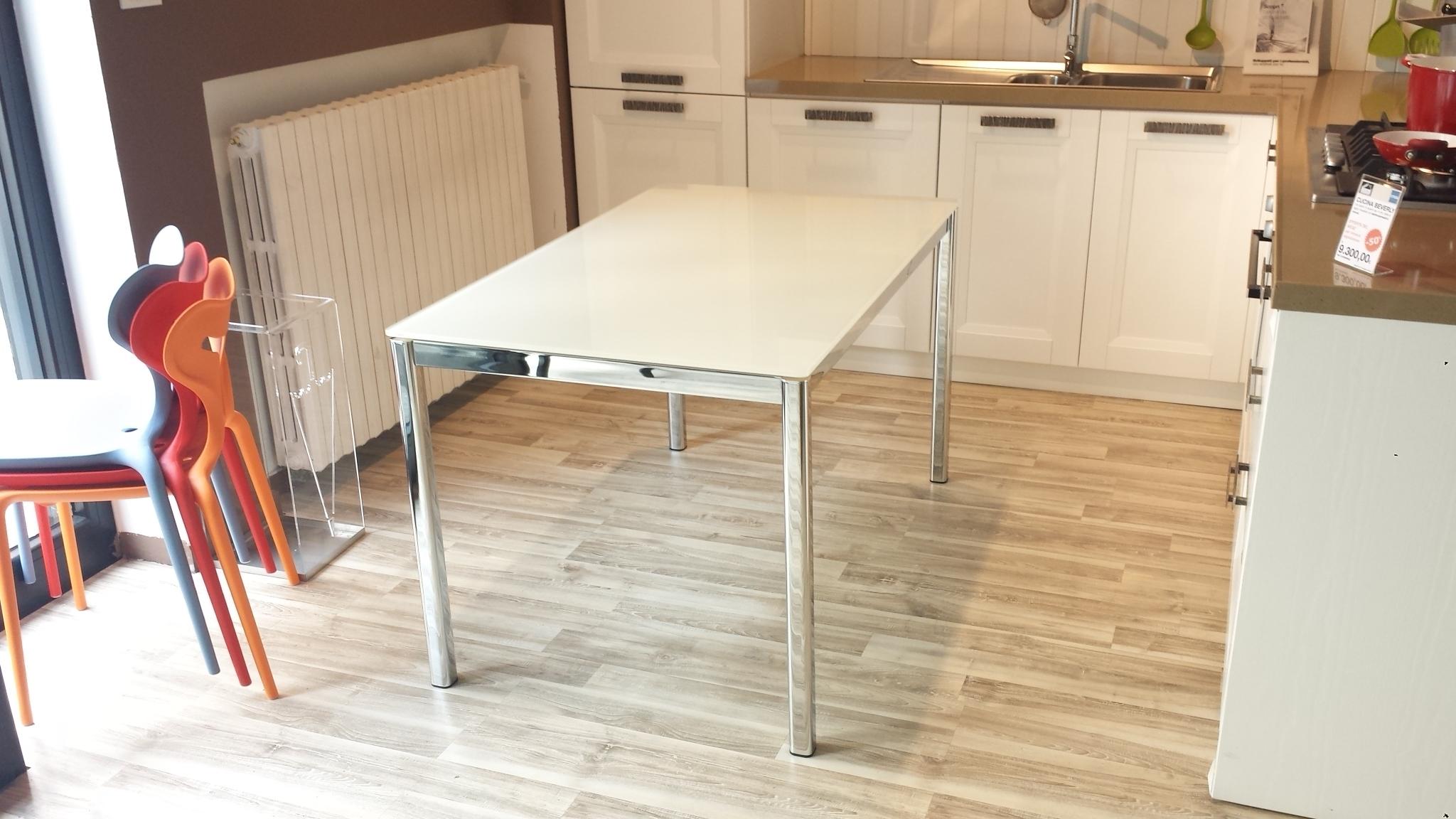 Tavolo da cucina allungabile performance 20256 tavoli a - Tavoli bianchi da cucina ...