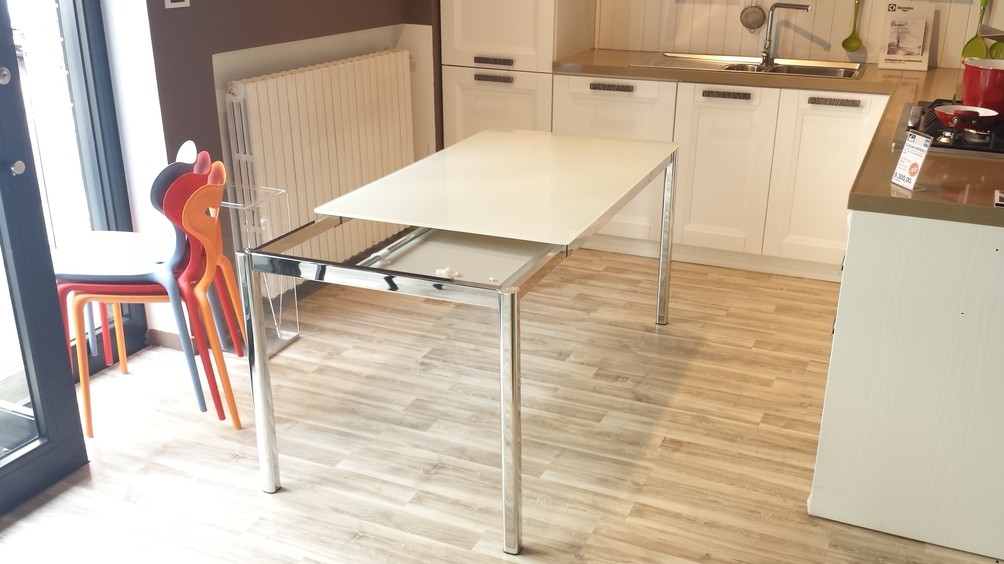 Tavolo da cucina allungabile performance tavoli a prezzi for Tavolo da cucina legno