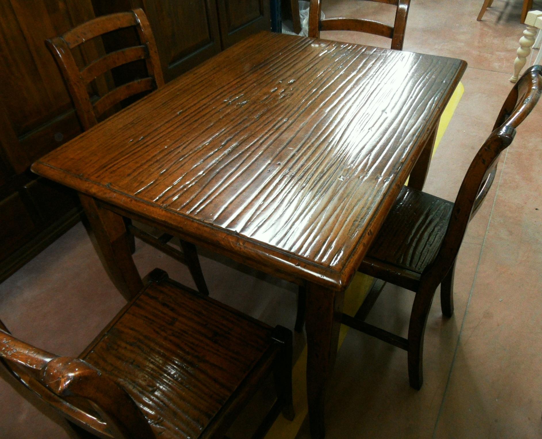 Tavolo da cucina con sedie scontato del 60 tavoli a for Tavoli da cucina prezzi