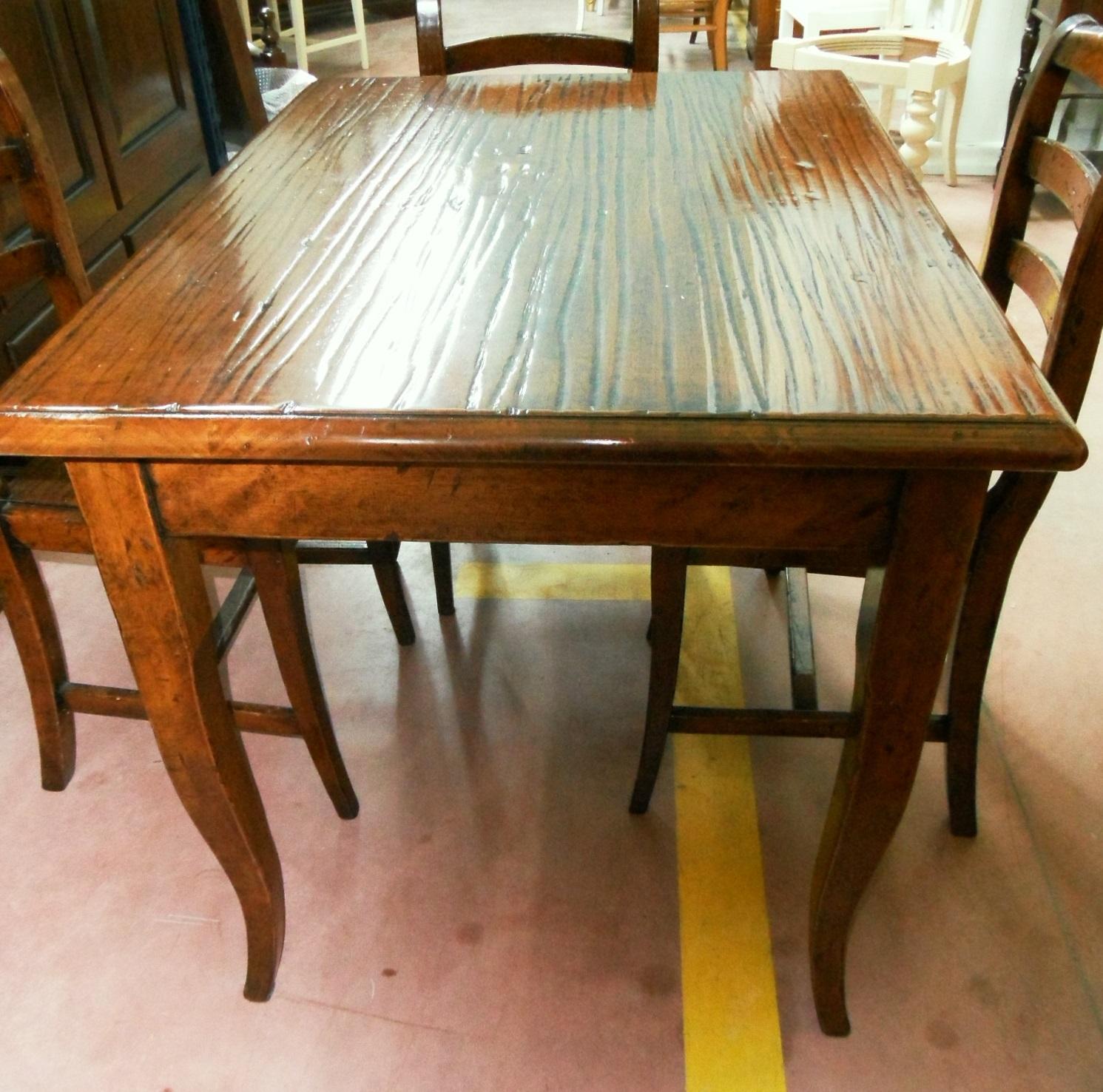 Tavolo da cucina con sedie scontato del 60 tavoli a for Sedie da tavolo