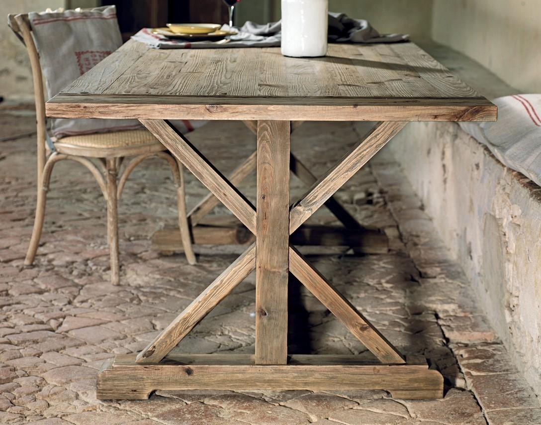 Tavolo da cucina in pino vecchio scontato del 37 tavoli for Tavoli bianchi da cucina