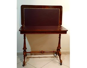 tavolo da gioco in legno e pelle scontato del 50%