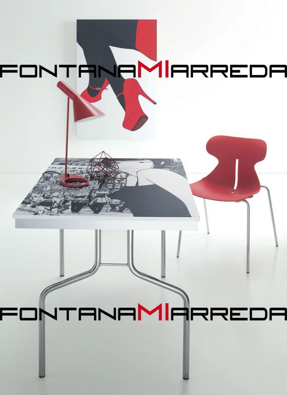 Tavolo da parete opera tavoli a prezzi scontati - Tavolo quadro a parete ...