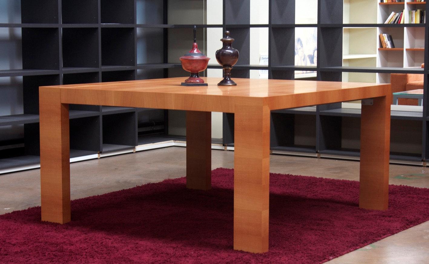 Tavolo dante quadrato tavoli a prezzi scontati for Tavolo legno quadrato