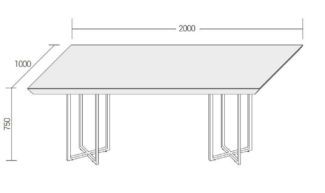 Tavolo di design dall 39 agnese scontato del 31 tavoli a for Arredamento design scontato