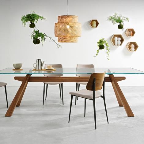 Tavolo di design vetro tavoli a prezzi scontati for Tavoli di design outlet