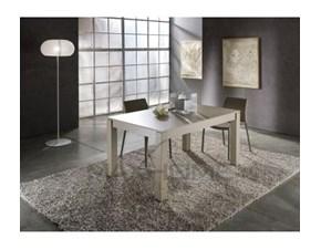 Tavolo Diesis + sedie Max home in laminato Rettangolare allungabile