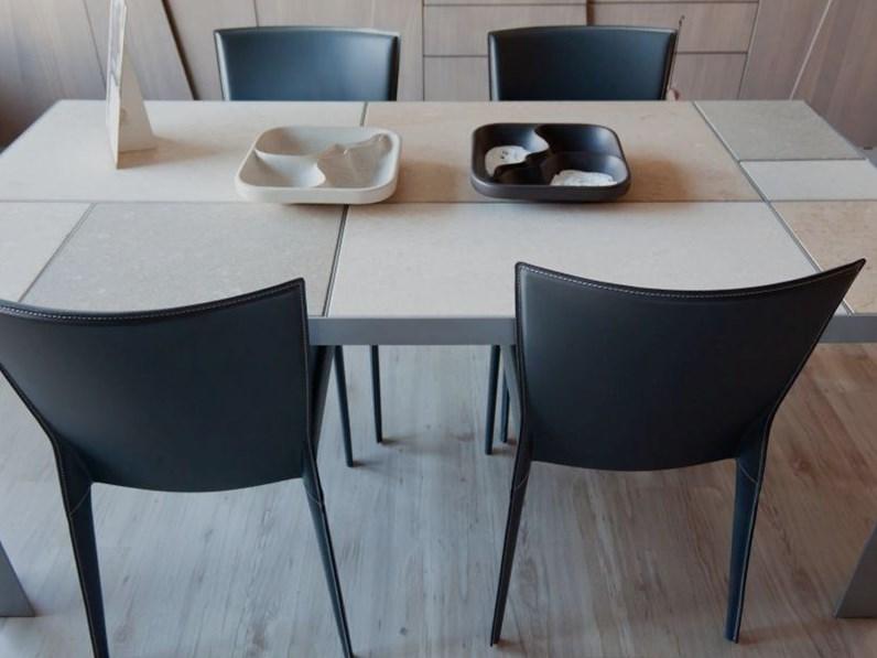 Tavolo domino di laboratorio del marmo a prezzi outlet for Domino arredamenti