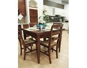 Tavolo e 4 sedie Arcadia Artigianale a prezzo ribassato 25%