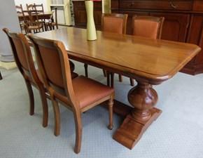 Tavolo E 4 sedie gobbi Artigianale in legno Fisso