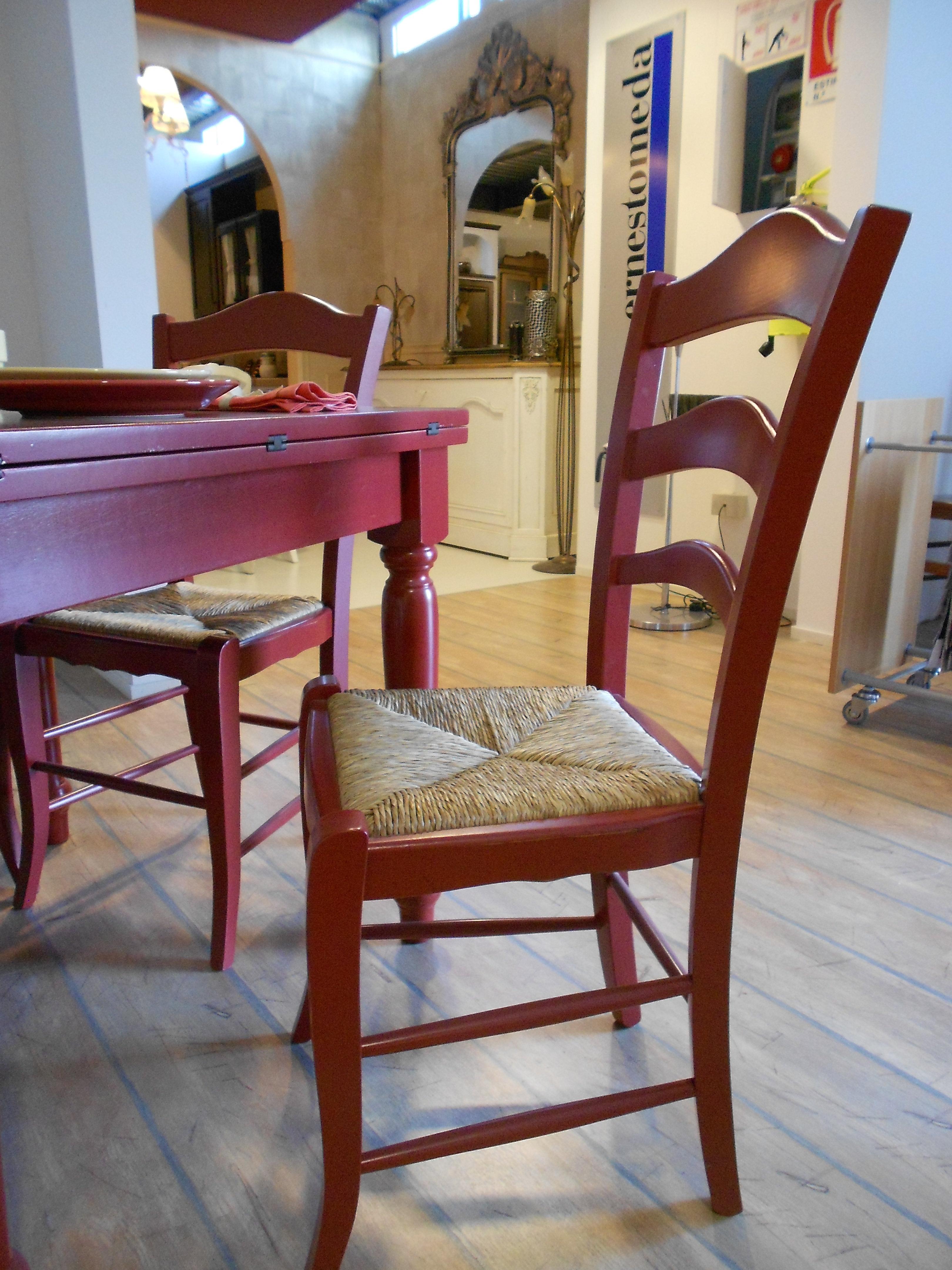 Tavolo e sedie in legno fratelli mirandola scontato del 40 - Tavoli e sedie in offerta ...