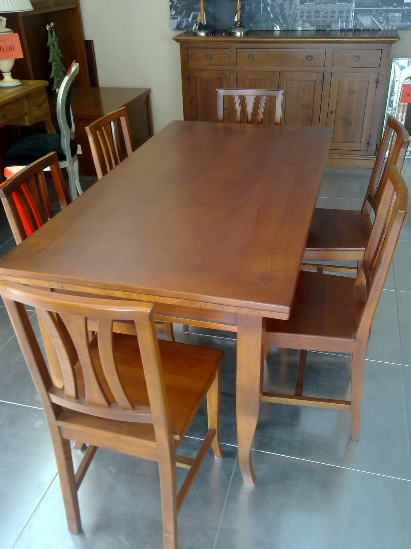 Tavolo e sedie noce outlet tavoli a prezzi scontati for Tavoli e sedie prezzi