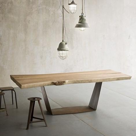 Tavolo elite tavolo legno massiccio rettangolari - Tavoli rettangolari allungabili in legno ...