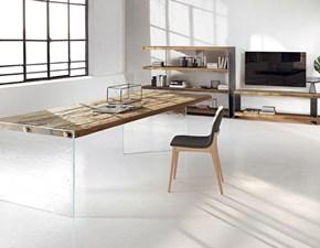 Tavolo ellittico in legno Ill nature design tavolo Nature design in Offerta Outlet