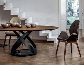 Tavolo ellittico in legno Tonin casa capri Tonin casa in Offerta Outlet