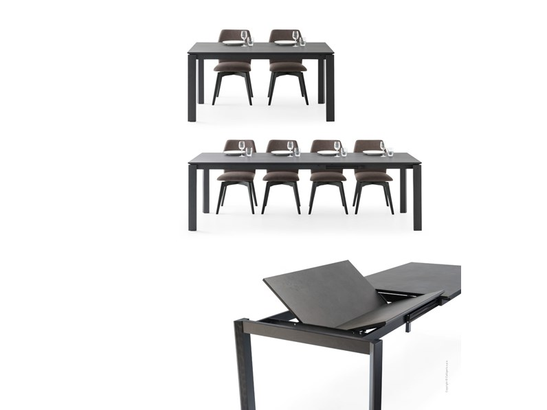 Tavolo eminence fast connubia by calligaris for Tavolo eminence calligaris