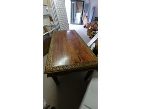 Tavolo Etniko Asia import in legno Fisso