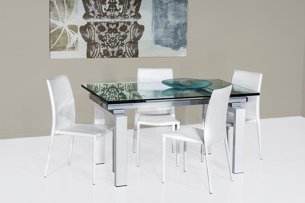 Tavolo vetro fashion allungabile scontato del 50 tavoli for Tavoli in vetro allungabili prezzi