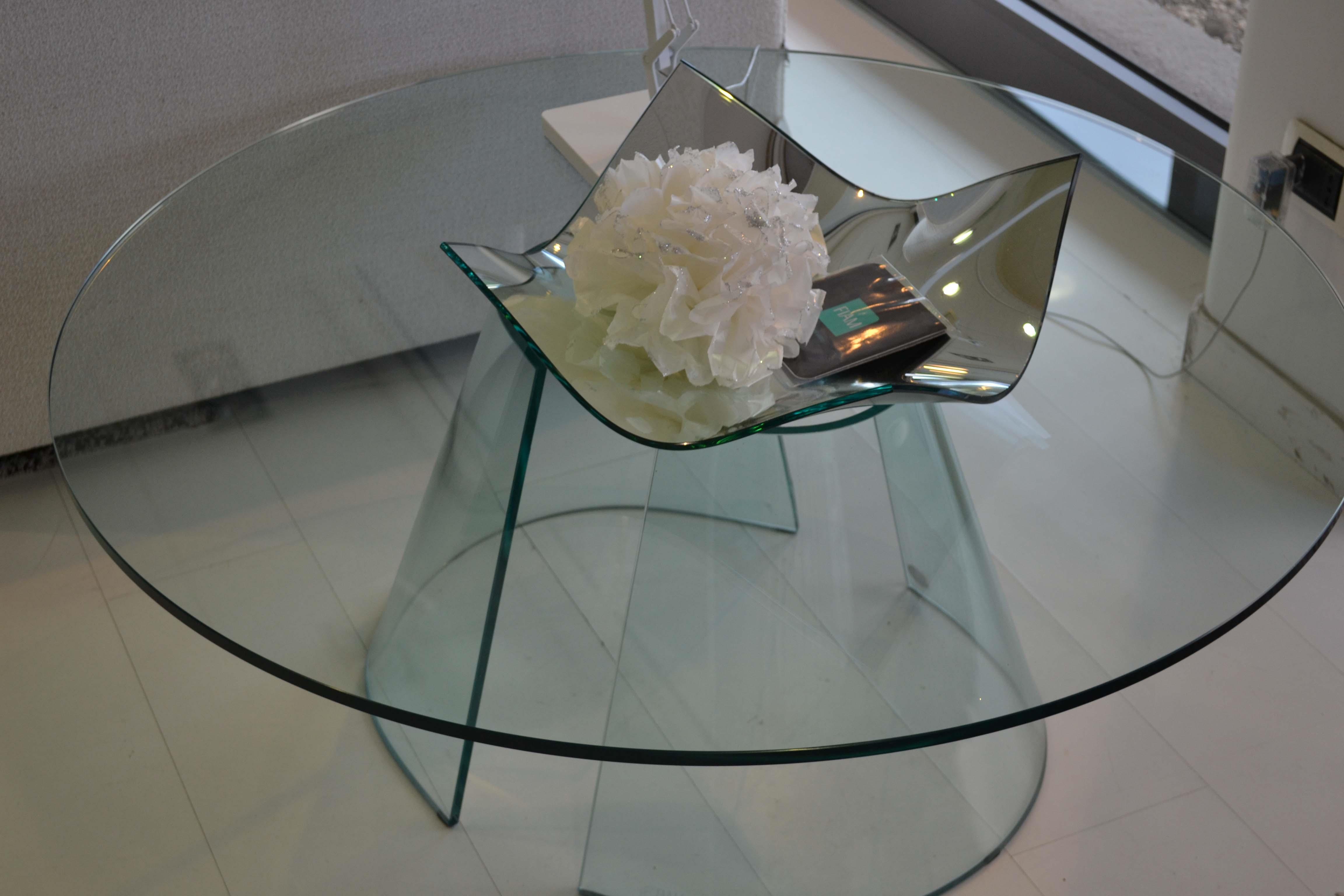 Tavolino da salotto Fiam italia tondo scontato del -50 % - Tavoli ...