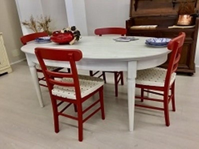 fisso completo di sedie modello Callesella a prezzo ribassato