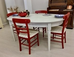 Tavolo fisso completo di sedie modello Callesella a prezzo ribassato