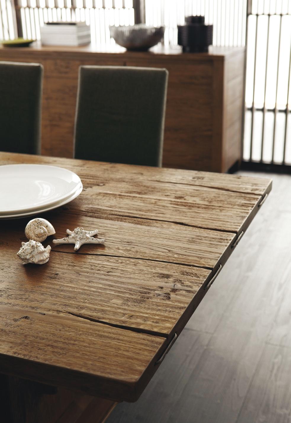 Tavolo fisso malmo in rovere tavoli a prezzi scontati - Tavoli vintage legno ...