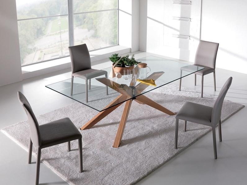 tavolo fisso Ninja 180x90 in legno