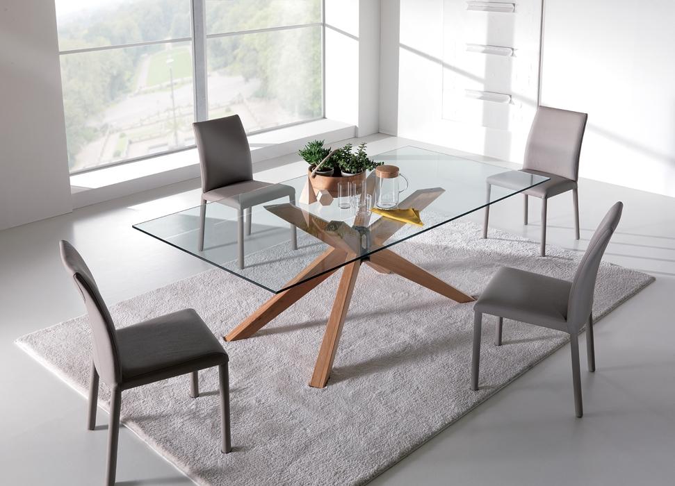 Tavoli Per Soggiorno Pranzo: Tavolo fisso ninja in legno ...
