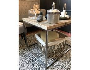 Tavolo fisso Tavolino industrial Artigianale a prezzo ribassato