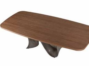 Tavolo fisso Wave solid wood Mottes selection a prezzo ribassato