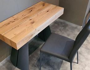 Tavolo Flap Ozzio in legno Consolle allungabile