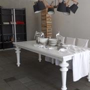Tavolo Gervasoni Vendita promozionale ,gervasoni, tavolo gray + set sedie ghost