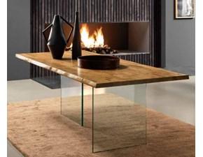 Tavolo Ghost Fgf in legno Fisso