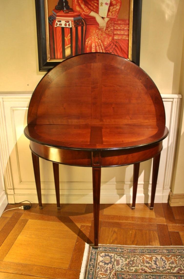 Tavolo grande arredo tavolo consolle allungabile in for Consolle classica allungabile