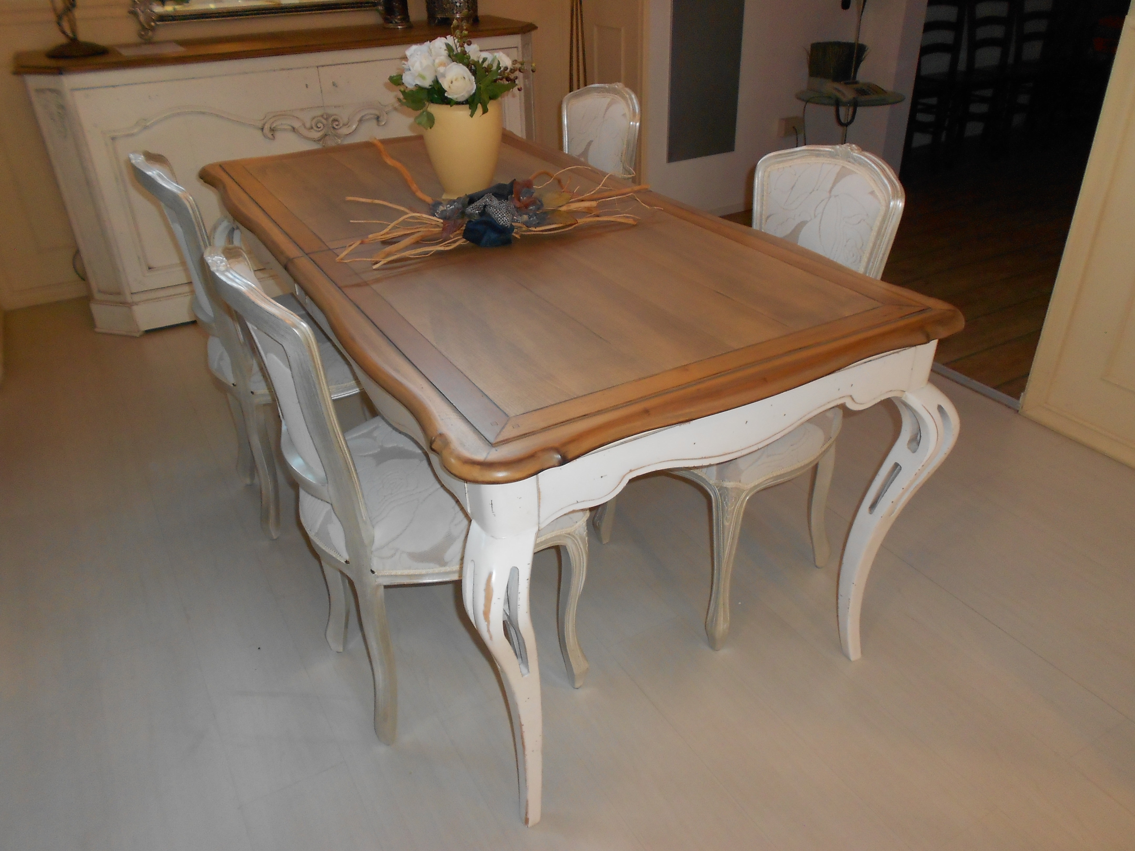Tavolo intarsiato grande arredo scontato del 35 tavoli - Tavolo grande legno ...