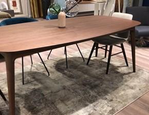 Tavolo Hanami in noce canaletto Novamobili in legno Fisso