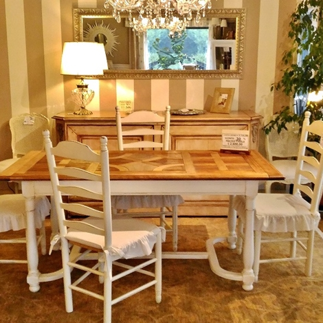 Tavolo heritage grande arredo allungabile in legno piano - Tavolo grande legno ...