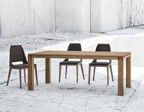 Tavolo Hirundo Accademia del mobile in legno Allungabile