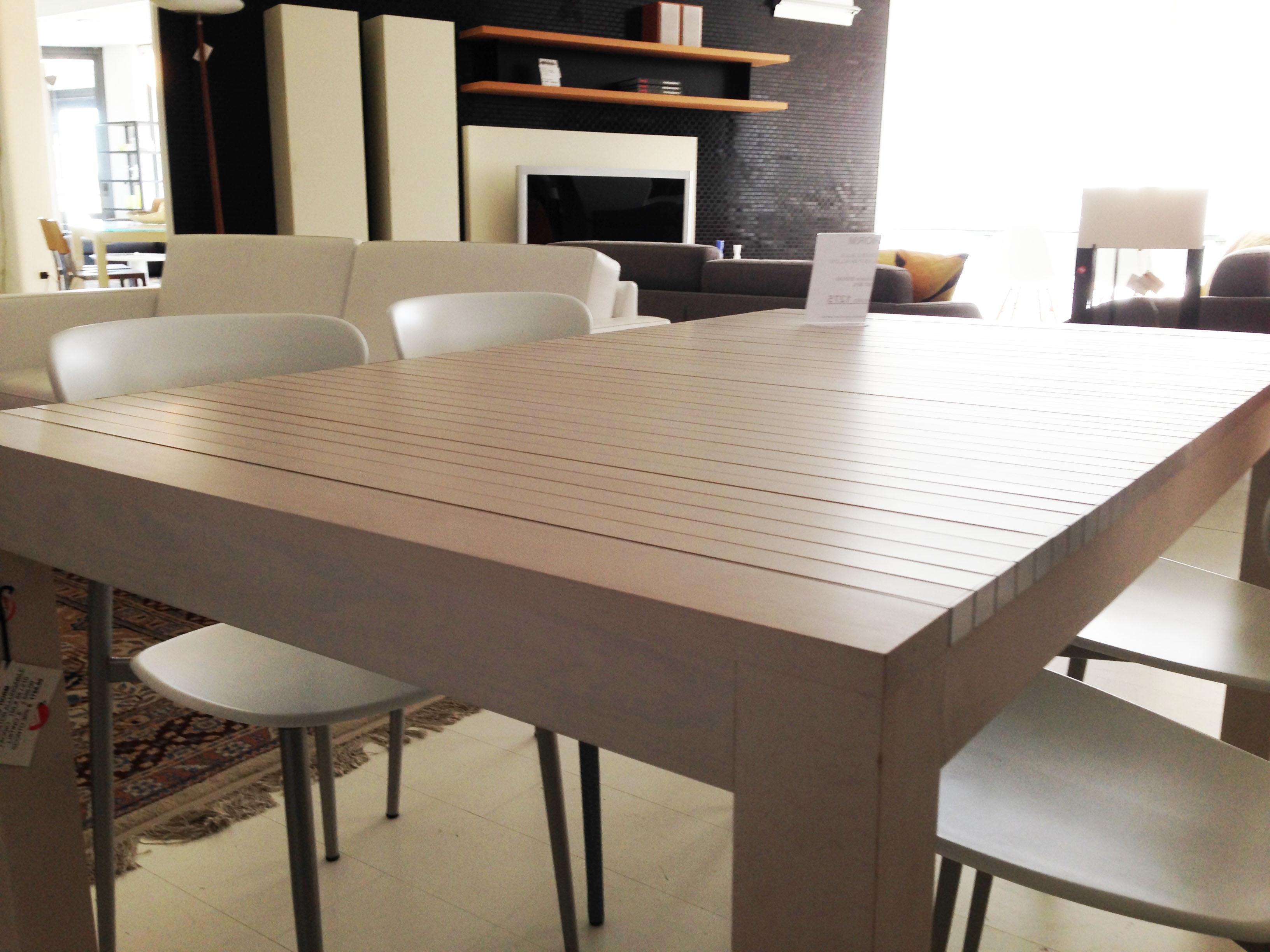 tavolo horm allungabile astor in faggio e alluminio