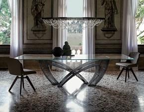 Tavolo Hystrix Cattelan in vetro Fisso