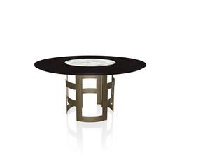 Tavolo Imperial ring Bontempi casa in legno Fisso