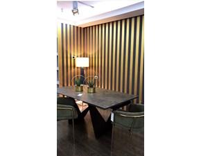 Tavolo in ceramica rettangolare Albatros La seggiola a prezzo ribassato