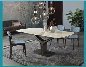 Tavolo in ceramica rettangolare Ariston Tonin casa in Offerta Outlet