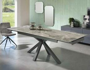 Tavolo in ceramica rettangolare Cer01st Md work in Offerta Outlet