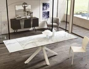 Tavolo in ceramica rettangolare Ceramica 1 om 3131 mb effetto marmo Stones in offerta outlet