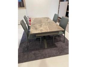 Tavolo in ceramica rettangolare Cermica1 - kitty Stones a prezzo scontato