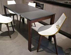Tavolo in ceramica rettangolare Eminance Connubia in Offerta Outlet